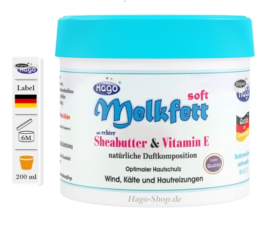 Melkfett Soft 200 ml