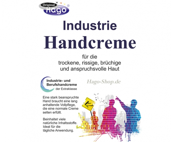 Industrie Handcreme - 200 ml