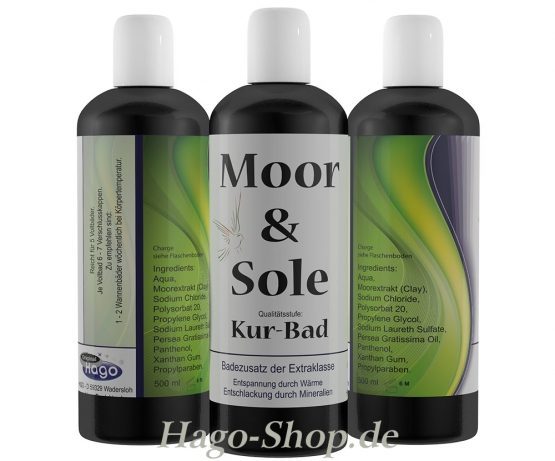 Moor-Sole Bad 500 ml