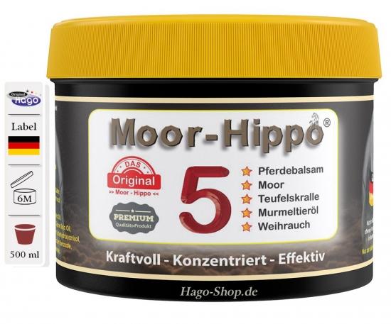 Moor-Hippo 5 - 500 ml ( 5 in 1 )