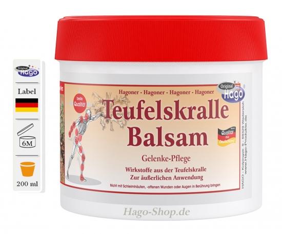Teufelskralle Balsam mit Aloe Vera  200ml