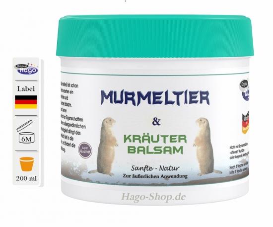 Murmeltier & Kräuter B.  200 ml
