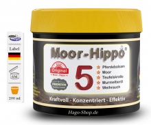 Moor-Hippo 5 - 200 ml ( 5 in 1 )