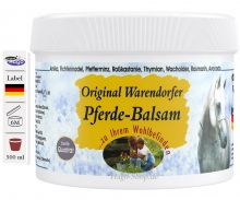 Original German Warendorfer Horse Balm  500ml